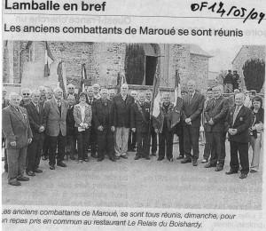 10 mai à Maroué