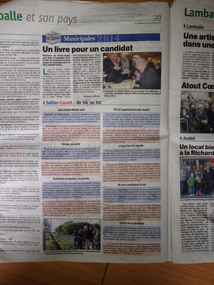 Le Penthièvre - 24 octobre 2013