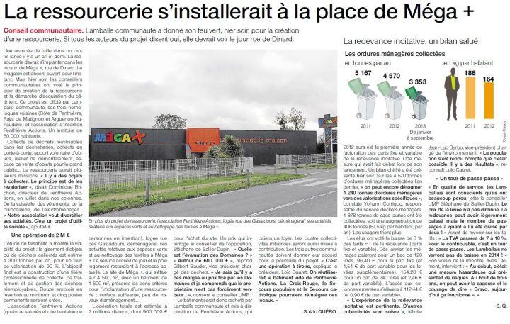 Ouest-France - 7 novembre 2013