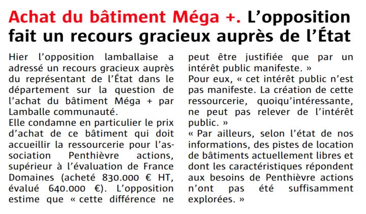 Méga + recours